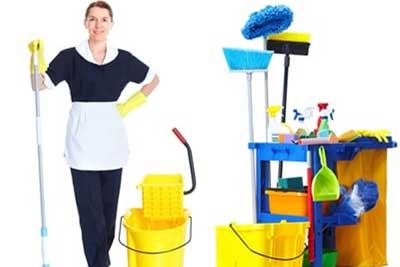 แม่บ้าน,ทำความสะอาด